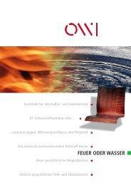 FEUER ODER WASSER - OWI GmbH