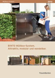 BINTO Müllbox-System. Attraktiv, modular und ... - Höttcke Holz