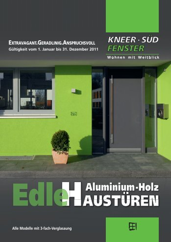 aluminium-holz-haustür - Glaser Schmid e.K.