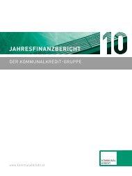 Jahresfinanzbericht - Kommunalkredit Austria AG