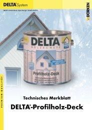 DELTA®-Profilholz-Deck - Ewald Dörken AG
