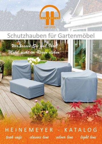 Schutzhauben für Gartenmöbel