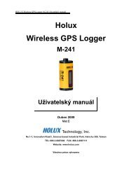 Holux Wireless GPS Logger - EU3C