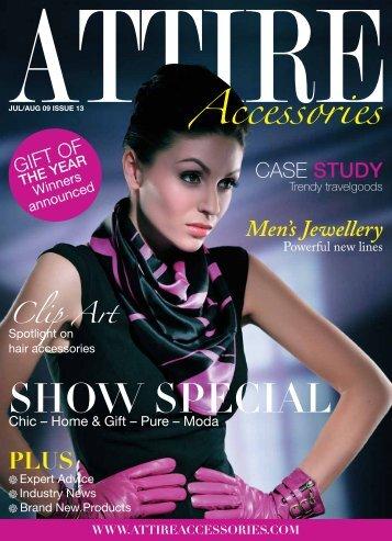 SHOW SPECIAL - Attire Accessories magazine