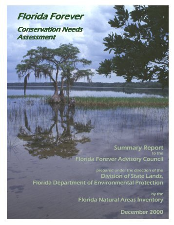 Summary Report - Florida Natural Areas Inventory