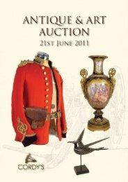 Antique & Art Auction Antique & Art Auction - Cordys