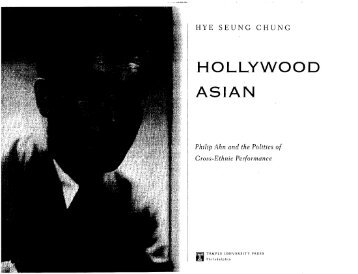 Hollywood Asian - Dartmouth College