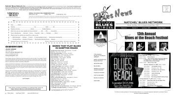 July-Aug 06 - Natchel' Blues Network