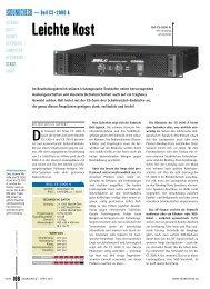 CS2000A SMPS Power Amplifier - Bell Audio