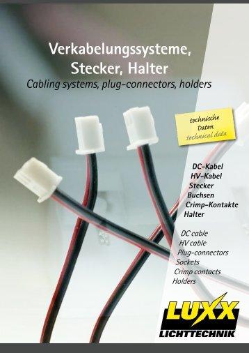 DC-Kabel - Luxx Lichttechnik GmbH