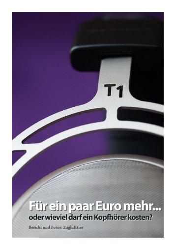 Für ein paar Euro mehr... - zuglufttier
