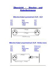 Kabel - HTL Wien 10