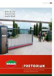 Höchste Qualität nach Maß - K. Kraus Zaunsysteme GmbH