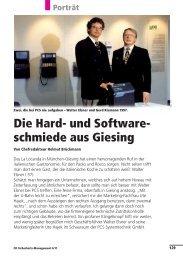 und Software- schmiede aus Giesing - PCS Systemtechnik GmbH