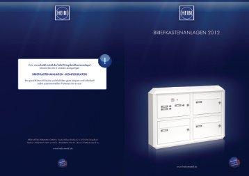 Briefkastenanlagen - konfigurator - besichern.de