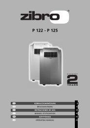 P 122 - P 125 - Zibro