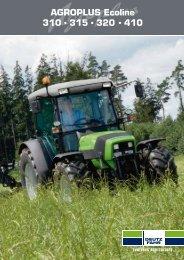 AGROPLUS Ecoline 310 • 315 • 320 • 410 - Same Deutz Fahr's