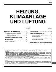 HEIZUNG, KLIMAANLAGE UND LÜFTUNG - Mitsubishi club