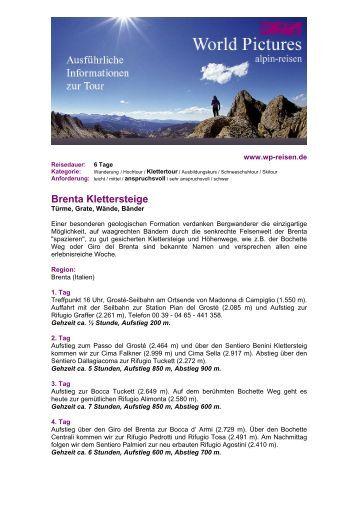 Brenta Klettersteige