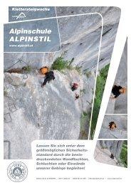 Klettersteigwoche Dolomiten - Alpinschule ALPINSTIL