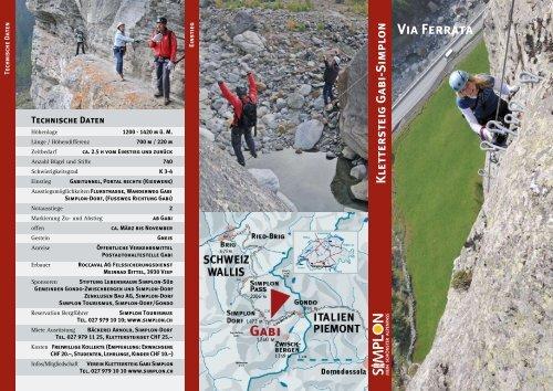 Klettersteig Gabi-Simplon Via Ferrata