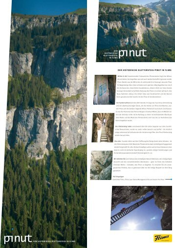 Flyer Pinut - Flims