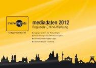 Mediadaten Regionale Online Werbung ... - allesklar.com AG