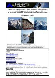 Balmhorn 2012 - Alpine-Center