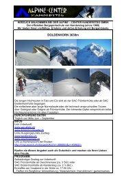 Doldenhorn 2012 - Alpine-Center