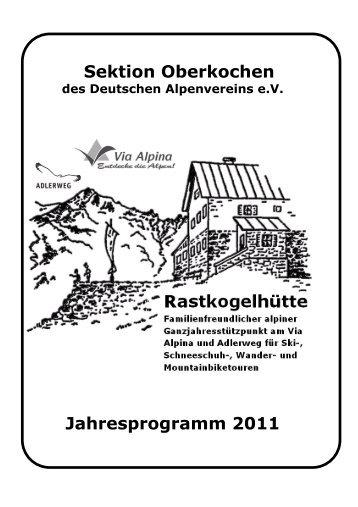 September 2011 - Deutscher Alpenverein e.V. Sektion Oberkochen