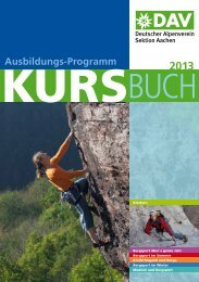 Ausbildungs-Programm - Aachen