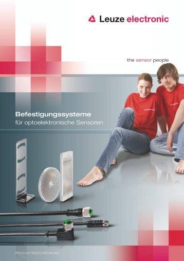 Produktbeschreibung Befestigungen - Leuze electronic