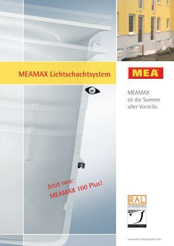 MEAMAX Lichtschachtsystem - Schaller & Brunner GmbH