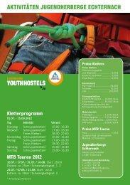AKTIVITÄTEN JUGENDHERBERGE ECHTERNACH - Youth Hostels