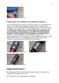 Karabinerrotation an der Sicherungsschlaufe des Klettergurtes - Page 5