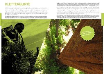 Baumpflege Klettergurt : Klettergurt magazine