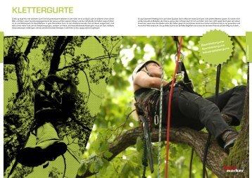 Klettergurt Für Baumpflege : Klettergurt magazine