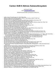 Canton SUB 8 Aktives Subwoofersystem - Komunitas Blogger Unsri ...