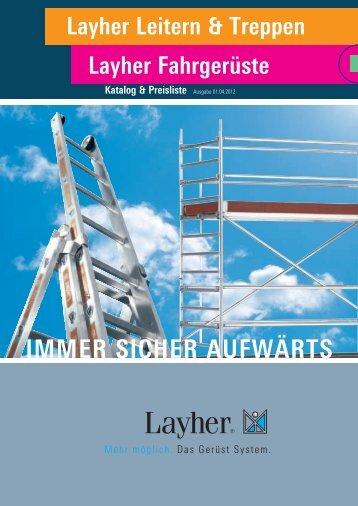 Layher Leitern und Fahrgerüste - Maler Weik