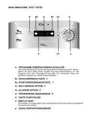 WASCHMASCHINE EVOT 13072D H B2 G B1 C2 A V     C1 ... - Candy