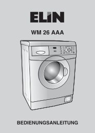 Anleitung ELIN WM 26 AAA - Akaflieg Graz