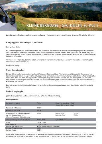 KLEINE BERGOASE - SÄCHSISCHE SCHWEIZ - Panorama ...