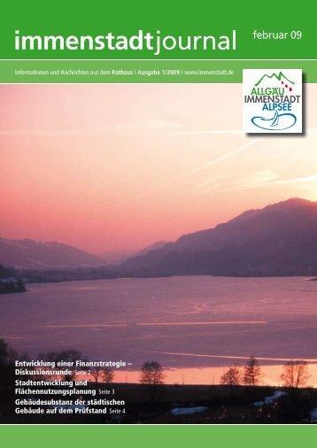 immenstadt journal februar 09 - Irs Alpsee Gruenten