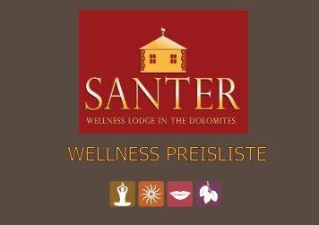 wellness preisliste - Hotel Santer