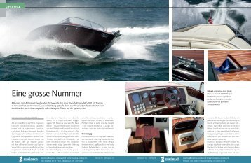 Boesch 970 St. Tropez - boot24.ch