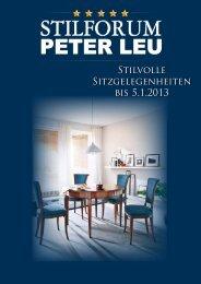 """Stilvolle sitzgelegenheiten """"made in italy"""" - Stilmöbel Peter Leu"""