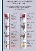 """Stilvolle sitzgelegenheiten """"made in italy"""" - Stilmöbel Peter Leu - Seite 3"""