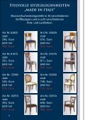 """Stilvolle sitzgelegenheiten """"made in italy"""" - Stilmöbel Peter Leu - Seite 4"""