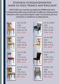 """Stilvolle sitzgelegenheiten """"made in italy"""" - Stilmöbel Peter Leu - Seite 6"""