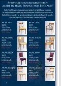 """Stilvolle sitzgelegenheiten """"made in italy"""" - Stilmöbel Peter Leu - Seite 7"""